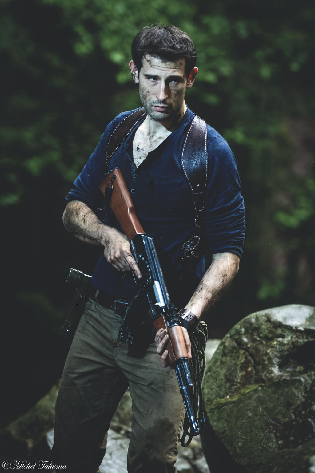 uncharted 4 nathan drake cosplay by johnnypen on deviantart