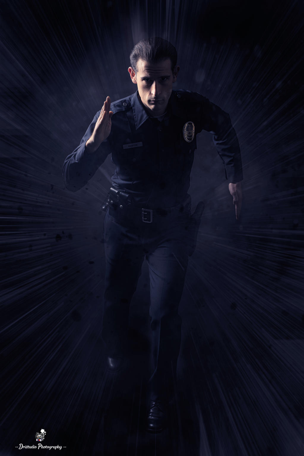 T-1000 cosplay
