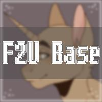 F2U base - Emotions by DemonPuss