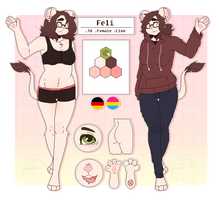 Oc ref - she's full of pride now