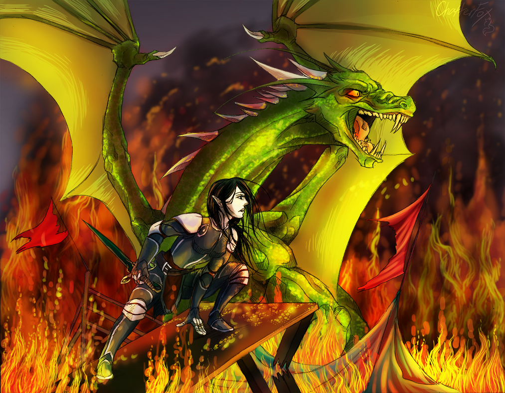 Firnen And Saphira Deviantart: more like saphira and firnen by tsuani ...