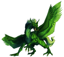 I am the Green Dragon! by ChatterFox
