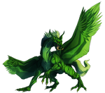 I am the Green Dragon!