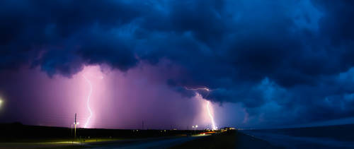 Lightning Storm by NC-StormChaser