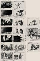 The Batman Story Board by kse332
