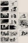 The Batman Story Board