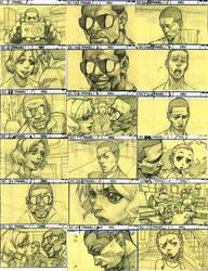 The Boondocks Story Board by kse332
