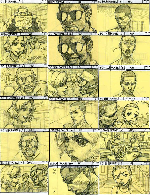The Boondocks Story Board By Kse On Deviantart