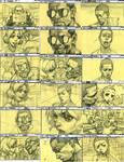 The Boondocks Story Board