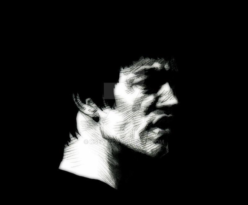Bruce Lee-6 by kse332