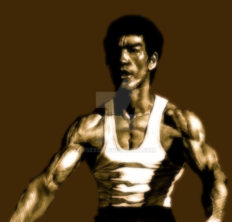 Bruce Lee-7 by kse332
