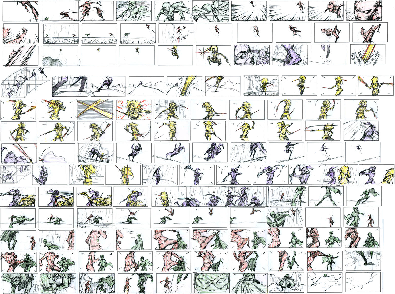 Young Justice Thumbnails by kse332