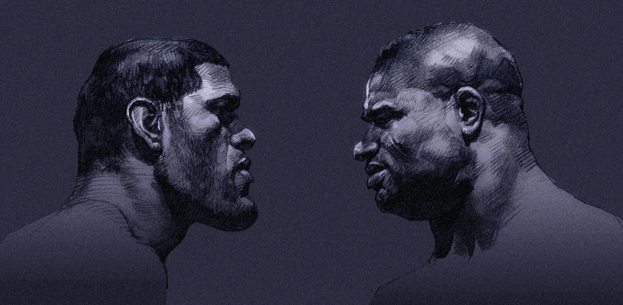 Antonio Silva vs Alistair Overeem by kse332