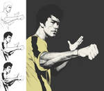 Bruce Lee working process