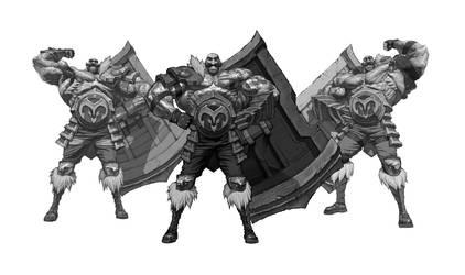 League of Legends Braum concept/Study