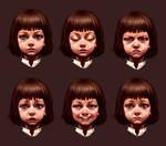 League of Legends Annie face expressions