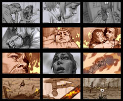 League of Legends Annie Origins Storyboard-3 by kse332