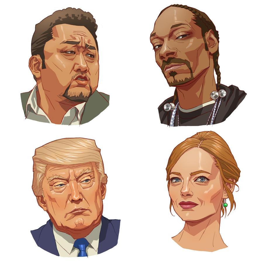 Character studies by kse332