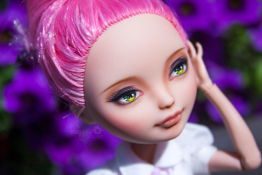 C.A. Cupid Repaint ( Ever After High doll) by Meggilu