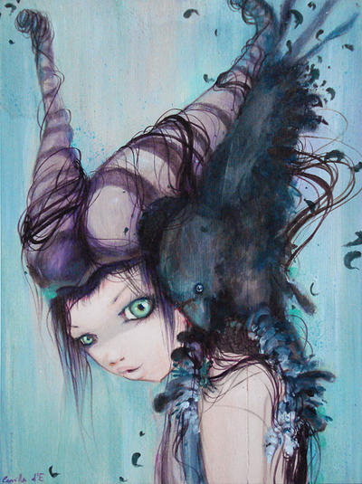 Maleficent by camilladerrico