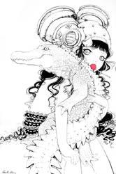Croc-o-Hug by camilladerrico