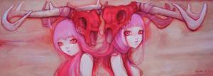 Pink Twin Rainbow