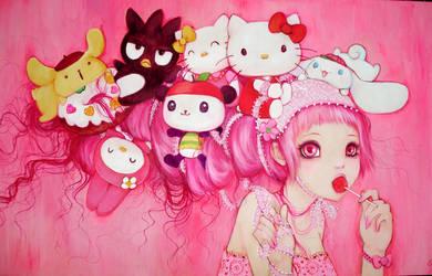 Hello Kitty Art Show