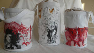 Various Tote Bags by camilladerrico