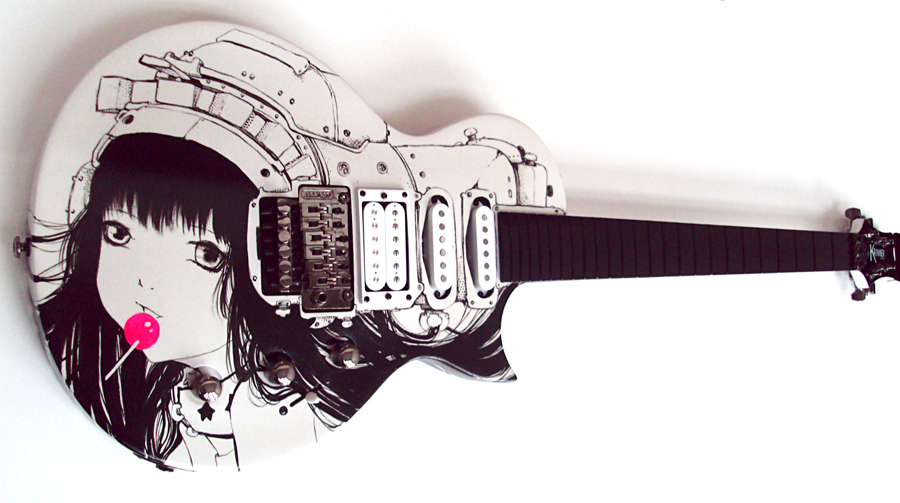 Custom Gibson Guitar by camilladerrico
