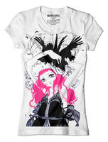 Strawberry Crows Tee by camilladerrico