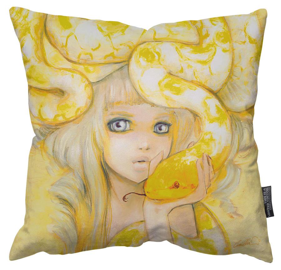 Yuuta Pillow by camilladerrico