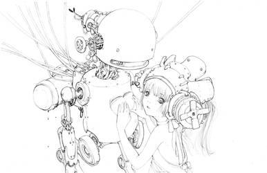 Mamma Bot by camilladerrico