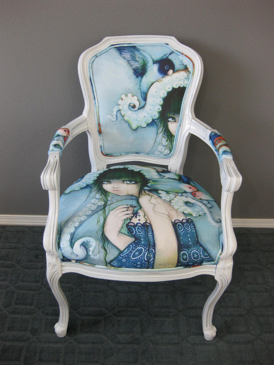 Loveless Bird Antique Chair by camilladerrico