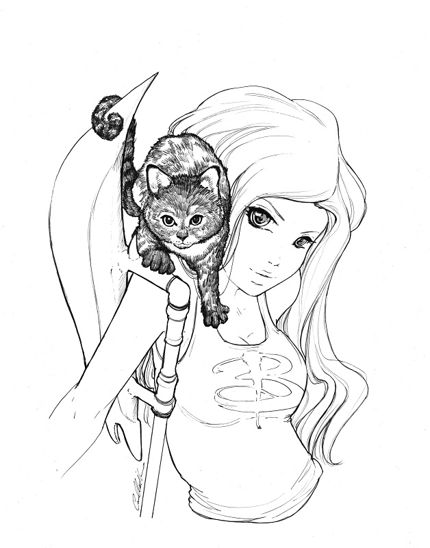 Buffy the vampire slayer by camilladerrico on deviantart for Buffy coloring pages