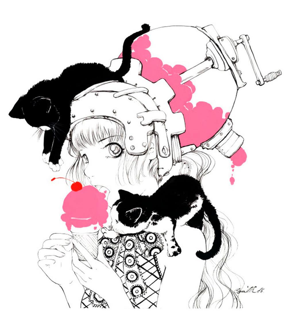 Cherries Jubilee by camilladerrico