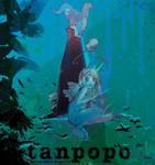 Tanpopo Graphic Novel 2 Cover Illustration