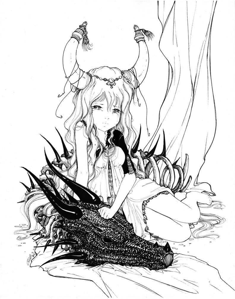 33 Dragon Tears by camilladerrico