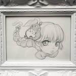 Totoro graphite drawing