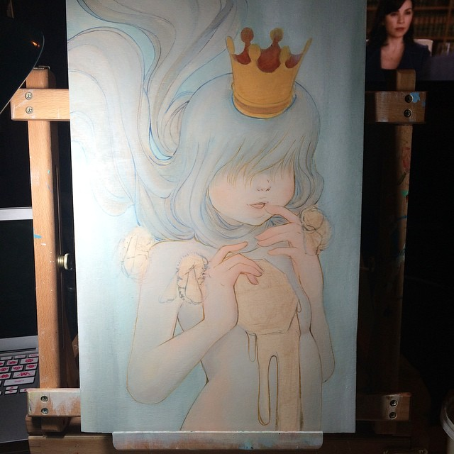 Queen Beatrice wip1 by camilladerrico
