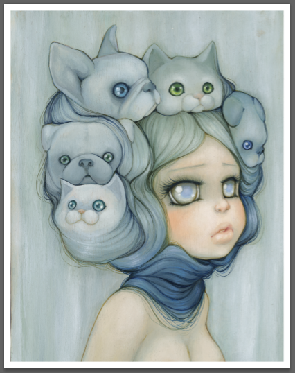 Mademoiselle Gatto by camilladerrico
