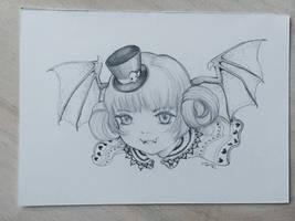 Batty by camilladerrico