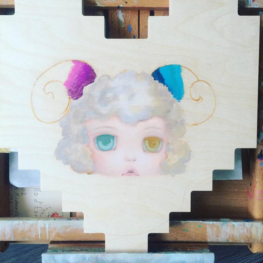 Petite Mouton Wip by camilladerrico