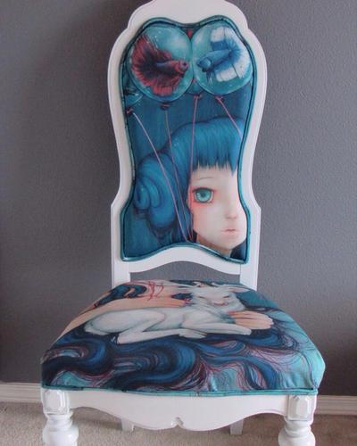 Unpredictable Gravity OAK chair by camilladerrico