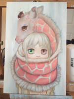 Muffler WIP by camilladerrico