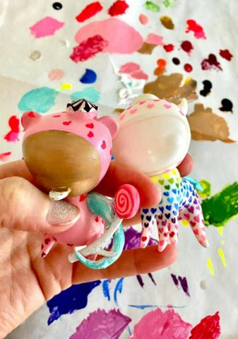 Custom Toys WIP by camilladerrico