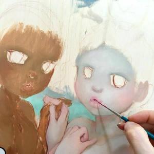 Painting WIP Sneak Peek
