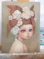 New painting! by camilladerrico