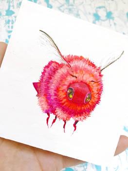 Mini Bee Painting for July Patreon Reward Winner