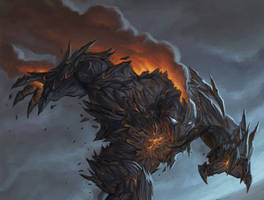 Magmatic Golem by Steamhat