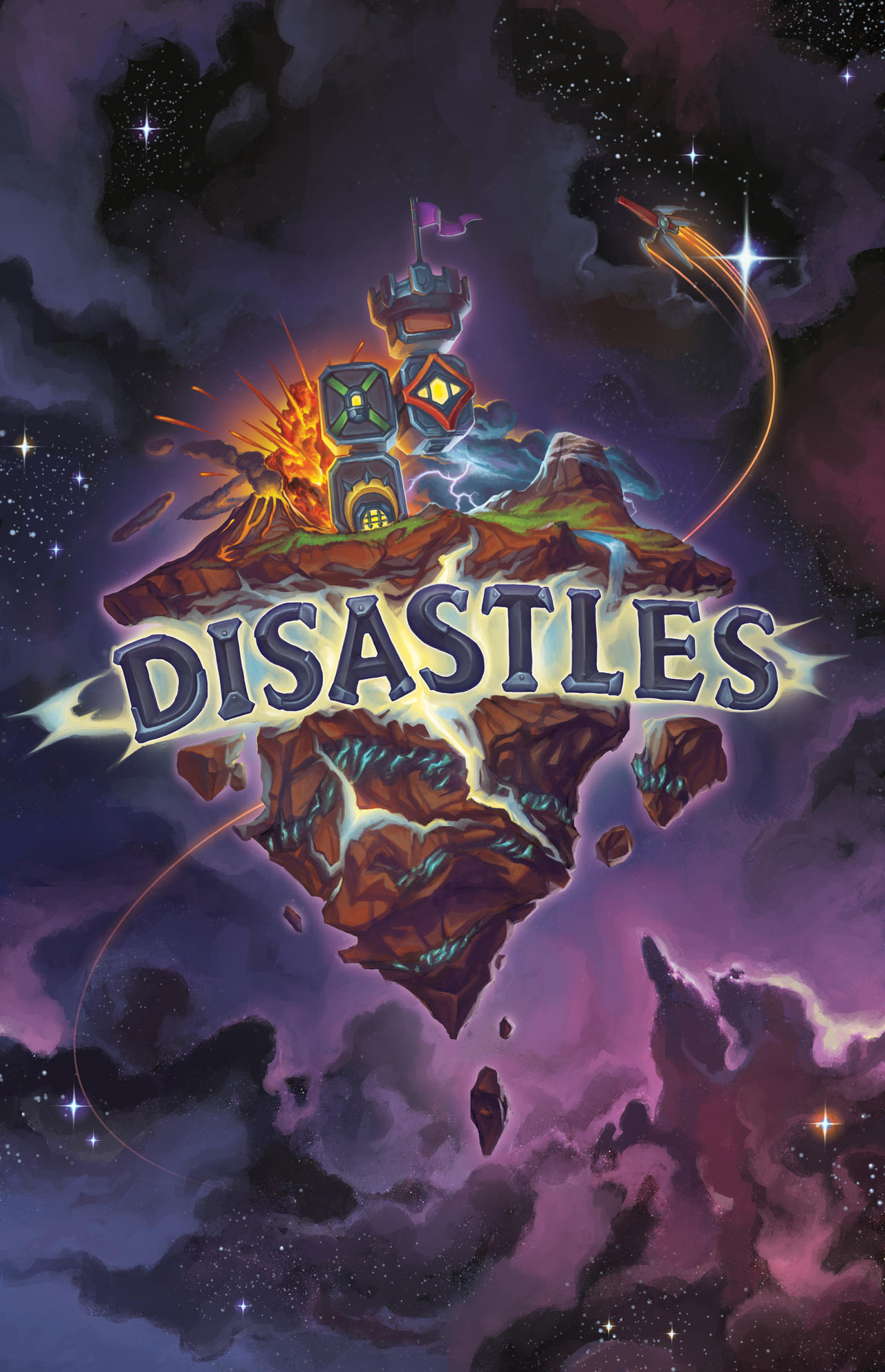 DISASTLES Cover Art by Steamhat